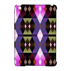 Geometric Abstract Background Art Apple Ipad Mini Hardshell Case (compatible With Smart Cover) by Simbadda