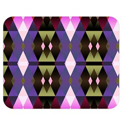 Geometric Abstract Background Art Double Sided Flano Blanket (medium)  by Simbadda