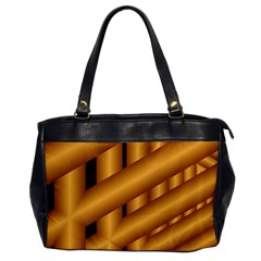 Fractal Background With Gold Pipes Office Handbags by Simbadda