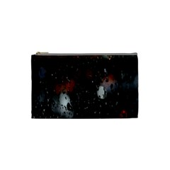 Lights And Drops While On The Road Cosmetic Bag (small)  by Simbadda