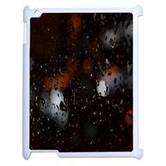Lights And Drops While On The Road Apple Ipad 2 Case (white) by Simbadda