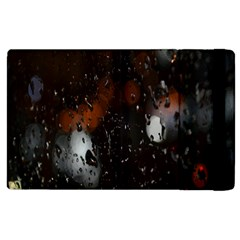 Lights And Drops While On The Road Apple Ipad 2 Flip Case by Simbadda