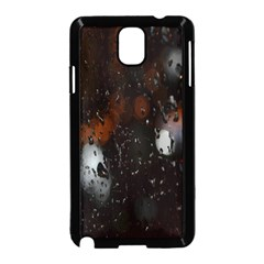 Lights And Drops While On The Road Samsung Galaxy Note 3 Neo Hardshell Case (black) by Simbadda