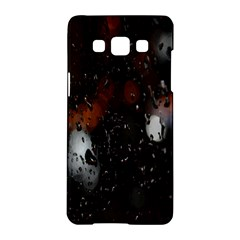 Lights And Drops While On The Road Samsung Galaxy A5 Hardshell Case
