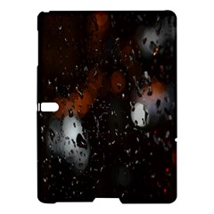 Lights And Drops While On The Road Samsung Galaxy Tab S (10 5 ) Hardshell Case  by Simbadda