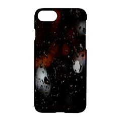 Lights And Drops While On The Road Apple Iphone 7 Hardshell Case by Simbadda