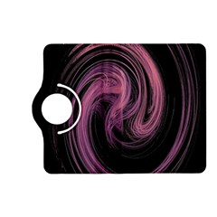 A Pink Purple Swirl Fractal And Flame Style Kindle Fire Hd (2013) Flip 360 Case by Simbadda