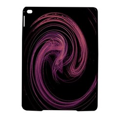 A Pink Purple Swirl Fractal And Flame Style Ipad Air 2 Hardshell Cases by Simbadda