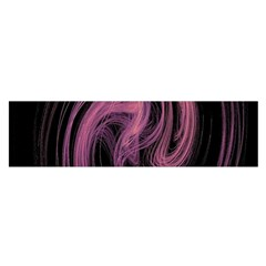 A Pink Purple Swirl Fractal And Flame Style Satin Scarf (oblong) by Simbadda