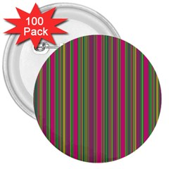 Lines 3  Buttons (100 Pack)  by Valentinaart