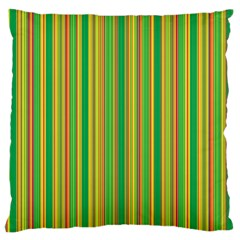 Lines Large Flano Cushion Case (one Side) by Valentinaart