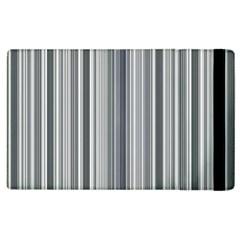 Lines Apple Ipad 2 Flip Case by Valentinaart
