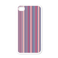 Lines Apple Iphone 4 Case (white) by Valentinaart