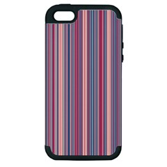 Lines Apple Iphone 5 Hardshell Case (pc+silicone) by Valentinaart