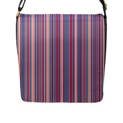 Lines Flap Messenger Bag (l)  by Valentinaart