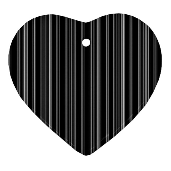 Lines Ornament (Heart)