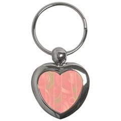 Pattern Key Chains (heart)  by Valentinaart