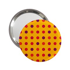 Polka Dots  2 25  Handbag Mirrors by Valentinaart