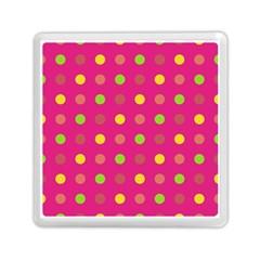 Polka Dots  Memory Card Reader (square)  by Valentinaart