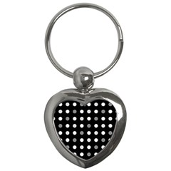 Polka Dots  Key Chains (heart)  by Valentinaart