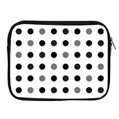 Polka Dots  Apple Ipad 2/3/4 Zipper Cases by Valentinaart
