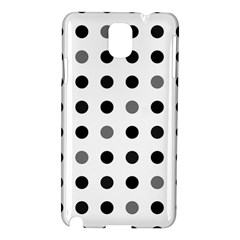 Polka Dots  Samsung Galaxy Note 3 N9005 Hardshell Case by Valentinaart