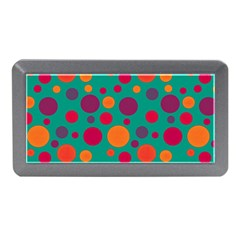 Polka Dots Memory Card Reader (mini) by Valentinaart
