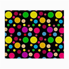 Polka Dots Small Glasses Cloth by Valentinaart