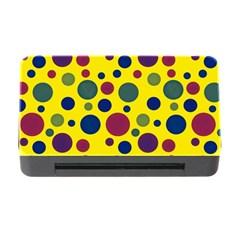Polka Dots Memory Card Reader With Cf by Valentinaart