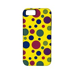 Polka Dots Apple Iphone 5 Classic Hardshell Case (pc+silicone) by Valentinaart