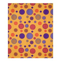 Polka Dots Shower Curtain 60  X 72  (medium)  by Valentinaart