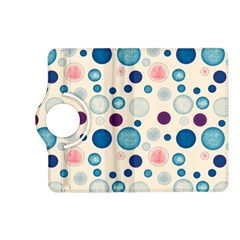 Polka Dots Kindle Fire Hd (2013) Flip 360 Case by Valentinaart