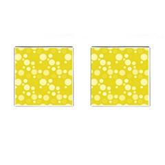 Polka Dots Cufflinks (square) by Valentinaart