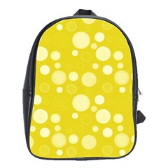 Polka Dots School Bags(large)  by Valentinaart