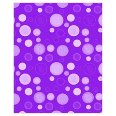 Polka Dots Drawstring Bag (small) by Valentinaart