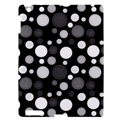 Polka Dots Apple Ipad 3/4 Hardshell Case by Valentinaart