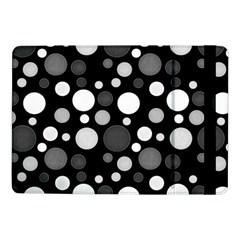 Polka Dots Samsung Galaxy Tab Pro 10 1  Flip Case by Valentinaart