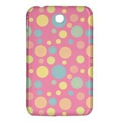 Polka Dots Samsung Galaxy Tab 3 (7 ) P3200 Hardshell Case  by Valentinaart