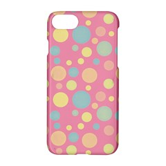 Polka Dots Apple Iphone 7 Hardshell Case by Valentinaart