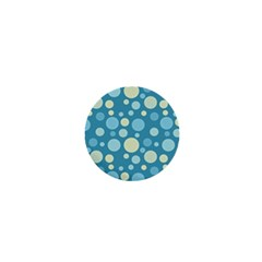 Polka Dots 1  Mini Buttons by Valentinaart