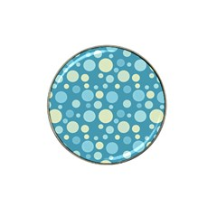 Polka Dots Hat Clip Ball Marker (10 Pack) by Valentinaart