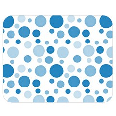 Polka Dots Double Sided Flano Blanket (medium)  by Valentinaart
