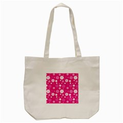 Polka Dots Tote Bag (cream) by Valentinaart