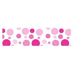 Polka Dots Satin Scarf (oblong) by Valentinaart