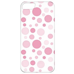 Polka Dots Apple Iphone 5 Classic Hardshell Case by Valentinaart