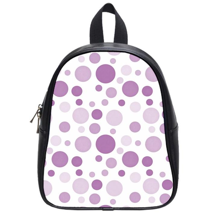Polka dots School Bags (Small)