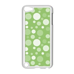 Polka Dots Apple Ipod Touch 5 Case (white) by Valentinaart