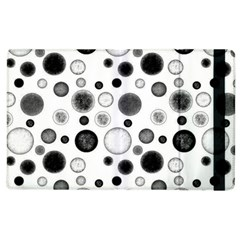Polka Dots Apple Ipad 3/4 Flip Case by Valentinaart