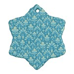 Pattern Snowflake Ornament (Two Sides) Back