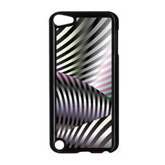 Fractal Zebra Pattern Apple Ipod Touch 5 Case (black) by Simbadda